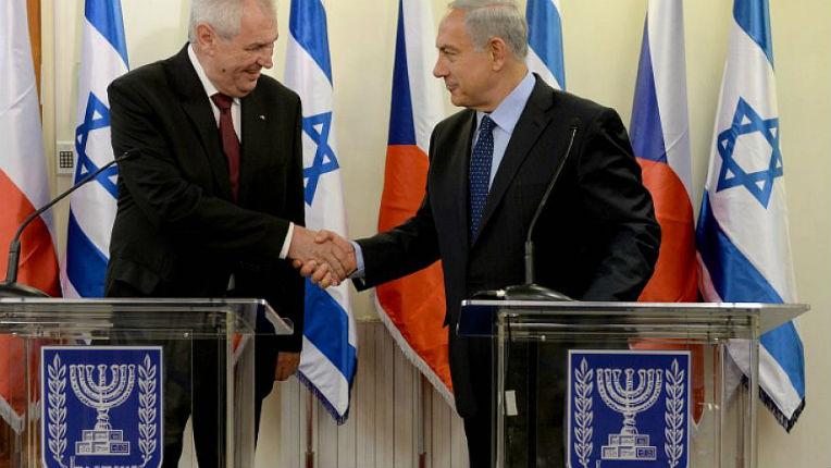 En Israël, le président tchèque, Miloš Zeman, estime qu'un Etat palestinien à Gaza n'a aucune chance d'exister