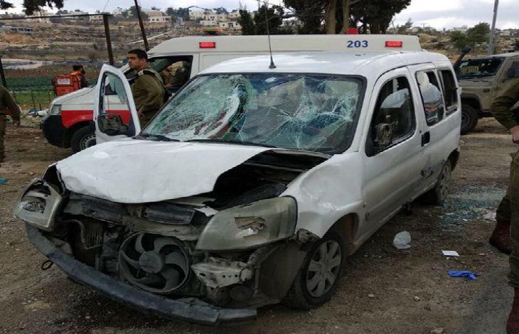 Judée Samarie : Trois soldats blessés dans une attaque à la voiture bélier (Vidéo)
