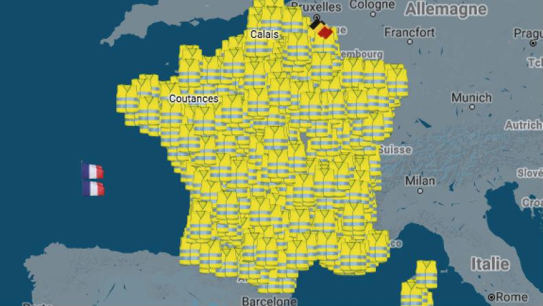 Marseille, Lyon, Nantes… : la carte qui recense les actions de blocage prévues le 17 novembre