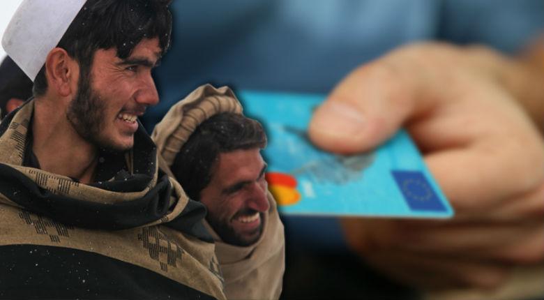 L'Union Européenne distribue des cartes bancaires prépayées aux migrants, avec nos impôts. Budget 650 millions d'Euros