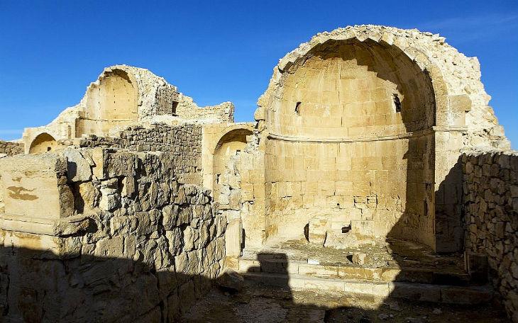 Une représentation de Jésus découverte dans une église byzantine située dans le désert du Negev en Israël