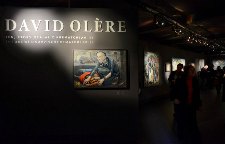 Les oeuvres de David Olère, survivant d'Auschwitz, exposées au musée du camp d'extermination