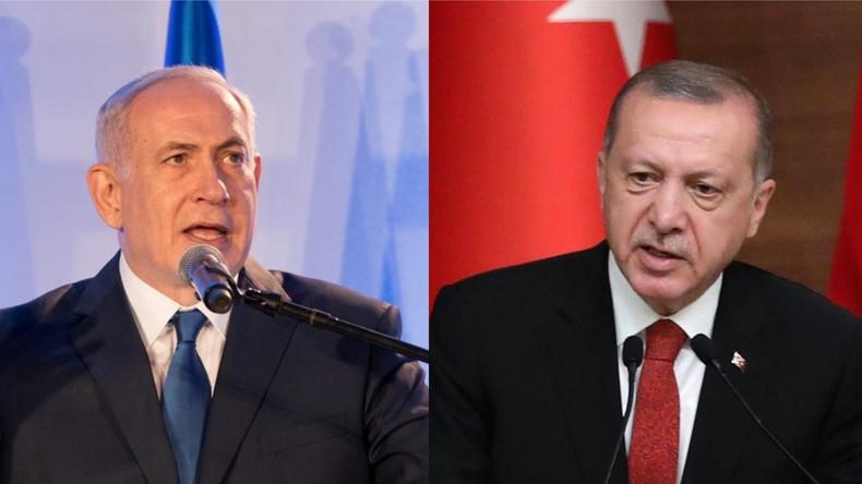 Benjamin Netanyahou accuse l'islamiste Erdogan d'être un «dictateur antisémite. Il est obsédé par Israël»