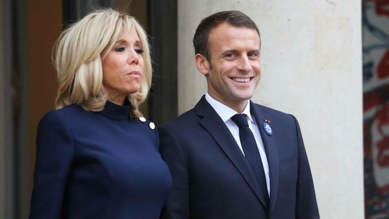 Pendant ce temps-là, Emmanuel et Brigitte Macron reçoivent «Le Monde»… pour parler déco de l'Elysée