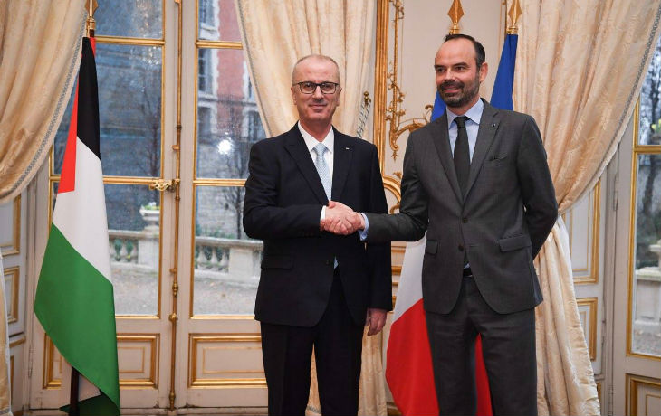 Si Macron n'a pas d'argent pour les Français, Edouard Philippe donne près de 100 millions d'Euros pour les Palestiniens…