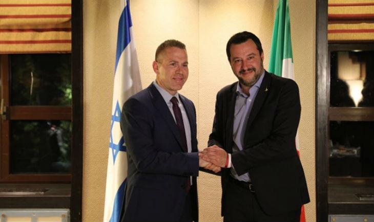 Matteo Salvini en Israël : «L'antisémitisme provient principalement des communautés musulmanes», «Je suis fier d'être à Jérusalem, la capitale d'Israël»