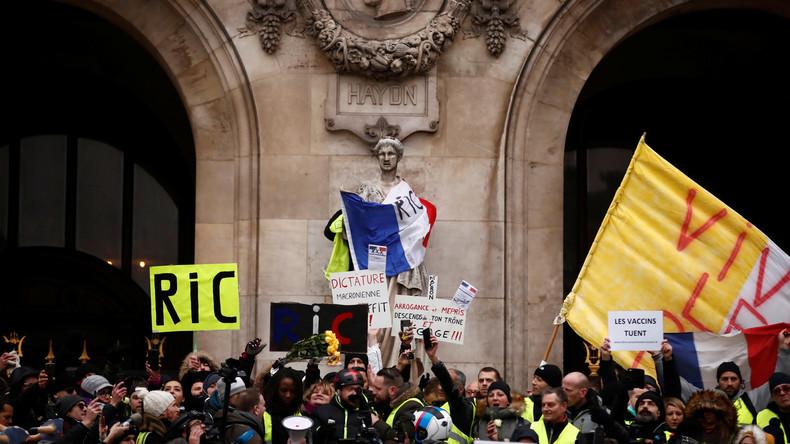 Sondage: 73% des Français prônent un référendum… sauf les sympathisants de LREM