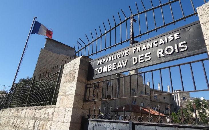 A Jérusalem, le Consulat de France empêche les Juifs d'aller prier sur le Tombeau des Rois, lieu saint du Judaïsme