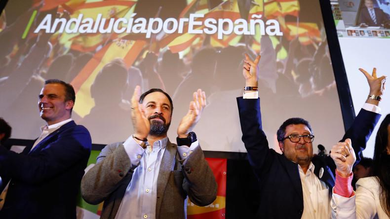 Espagne : le parti anti-immigration Vox fait une entrée fracassante au Parlement andalou