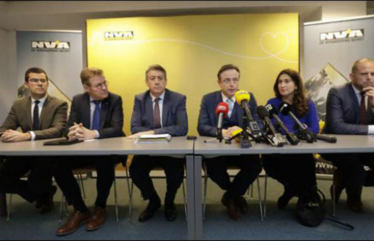 Belgique : les partis anti-migrants flamands, opposés au Pacte de Marrakech, sont donnés à plus de 42 %, selon un sondage d'après crise