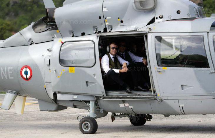 «Qu'ils viennent me chercher !» : Gilets jaunes, le 8 décembre, un hélicoptère était prêt à exfiltrer le président de l'Élysée