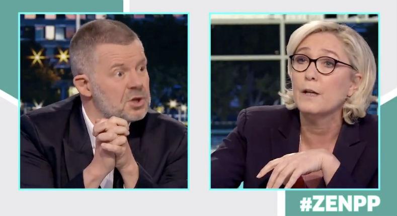 Marine Le Pen à Eric Naulleau : «Politiquement vous êtes un âne, et professionnellement un mouton» (Vidéo)