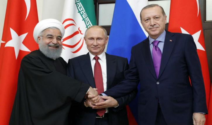 Russie: début 2019, un sommet sur la Syrie réunira Poutine, Erdogan et Rohani