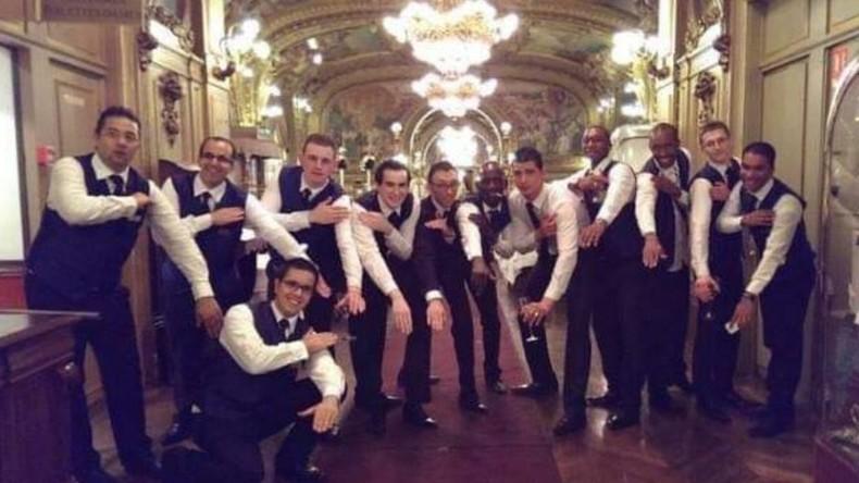 Quenelle nazi antisémite collective au restaurant Le Train Bleu : les salariés mis à pied