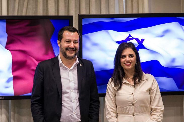 Netanyahu salue l'Italien Salvini comme «grand ami d'Israël»