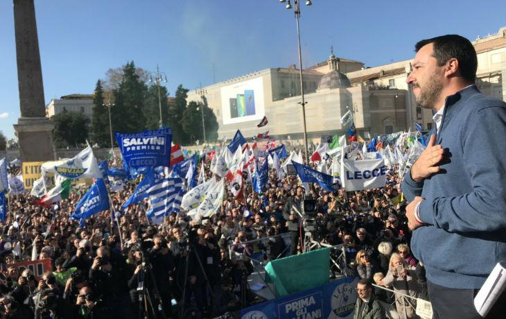 Salvini évoque les Gilets Jaunes : « Qui sème la pauvreté récolte les manifestations, qui sème les fausses promesses récolte la réaction des périphéries »