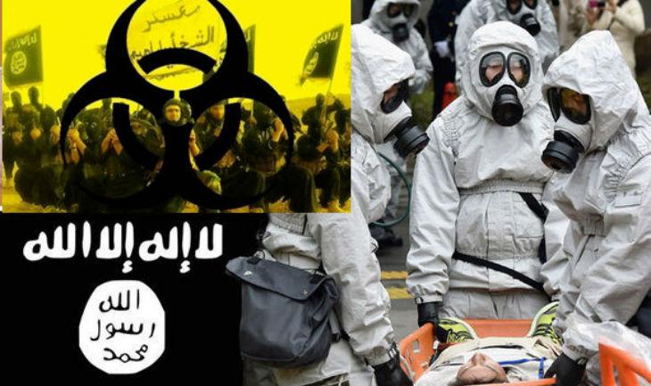 Les djihadistes préparent une attaque dévastatrice d'ARMES CHIMIQUES en Grande-Bretagne et pourraient lancer une bombe au chlore dans le métro de Londres, avertissent les responsables de la sécurité