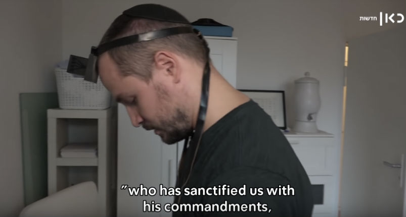 [Vidéo] Exceptionnel : Yonatan Langer un ancien néonazi s'est converti au judaïsme