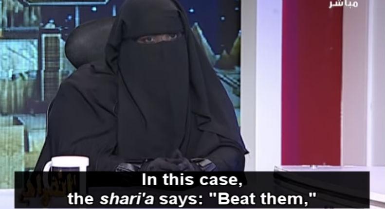 Une chercheuse égyptienne affirme lors d'un débat télévisé en Egypte : «L'époux a le « droit coranique » de battre sa femme. C'est dans la Charia» (Vidéo)