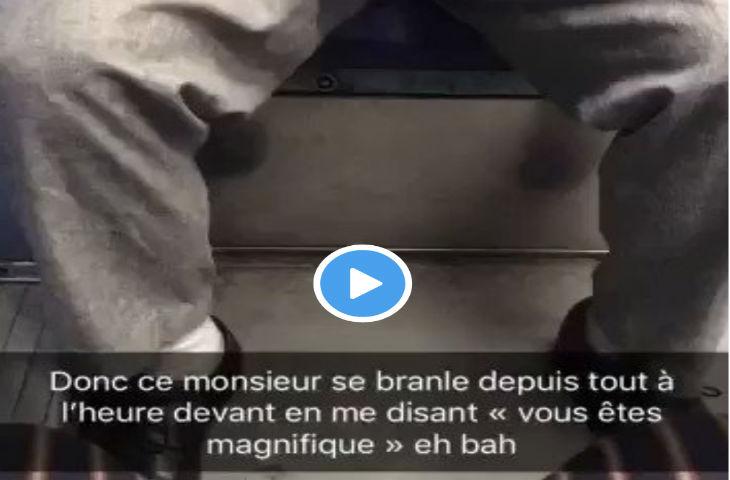 Une jeune femme filme son harceleur en train de se masturber dans le métro parisien (Vidéo)
