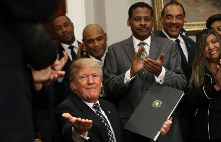 Effet Trump : Le chômage des Noirs est tombé à 5.9%