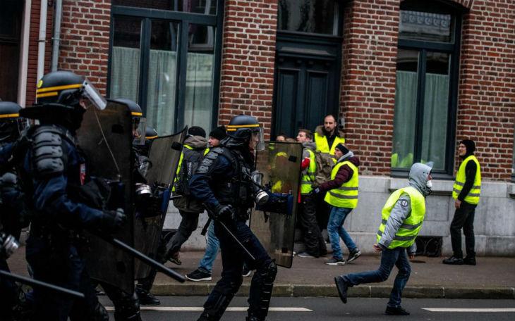 Le Conseil de l'Europe s'inquiète de la répression et du grand nombre de blessés parmi les Gilets Jaunes