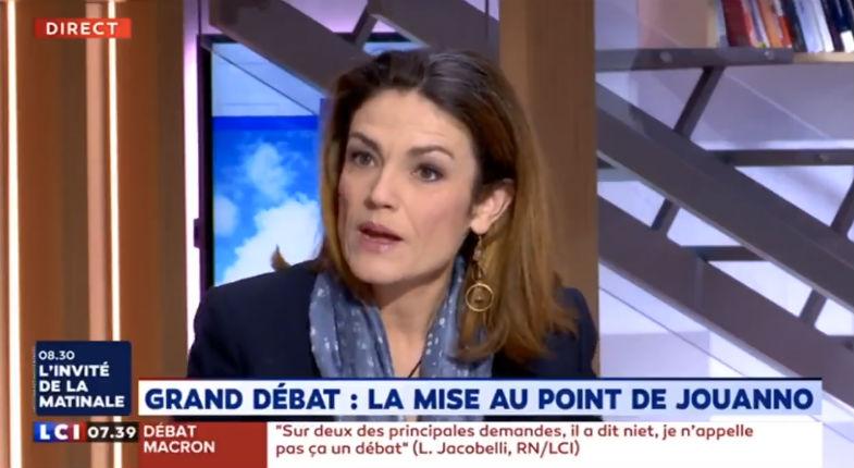 Grand débat : Chantal Jouanno dénonce une «opération de communication» du gouvernement, «Legrand débatest faussé» (Vidéo)