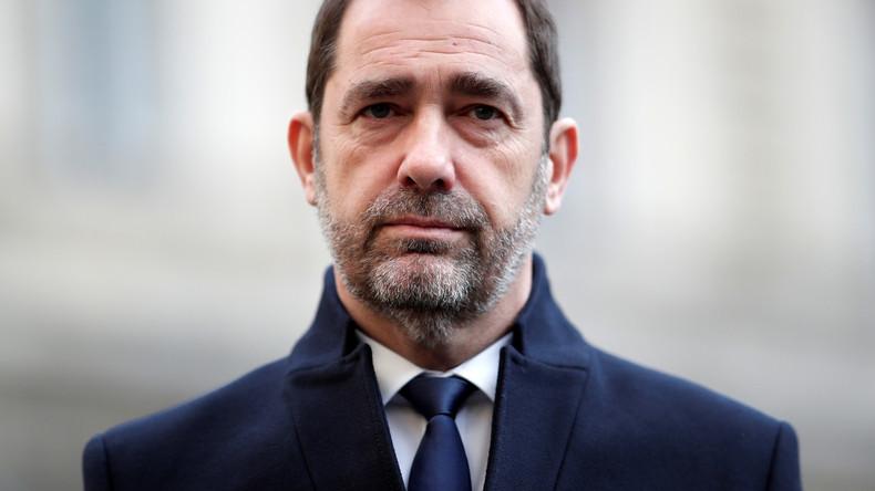 500 plaintes pour «entrave à la liberté de manifester» contre le ministre de l'Intérieur Christophe Castaner ont été classées sans suite