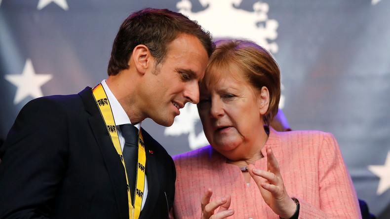 Aix-la-Chapelle : Macron signe avec Merkel un traité franco-allemand décrié «C'est comme le pacte de Marrakech : on apprend ça trois jours avant, pour que personne ne puisse venir contester le contenu du traité»