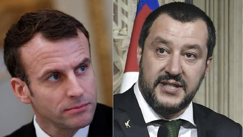Macron réplique à Salvini et souhaite aux Italiens des «dirigeants à la hauteur»