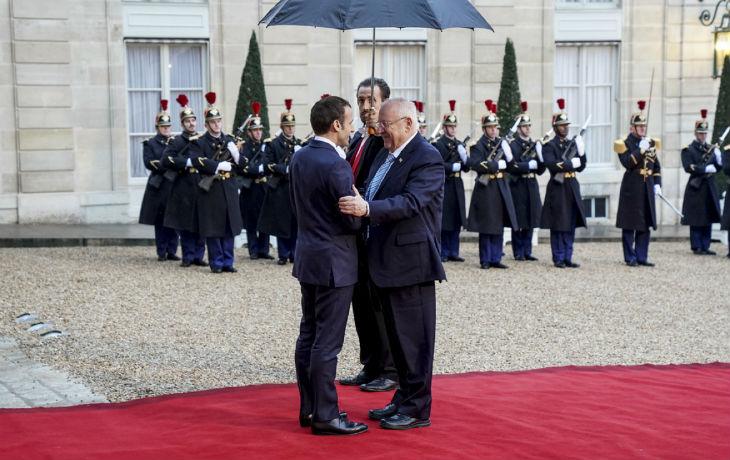 Visite du président Reuven Rivlin : Déclaration conjointe entre d'Emmanuel Macron et le Reuven Rivlin (VIDEO)