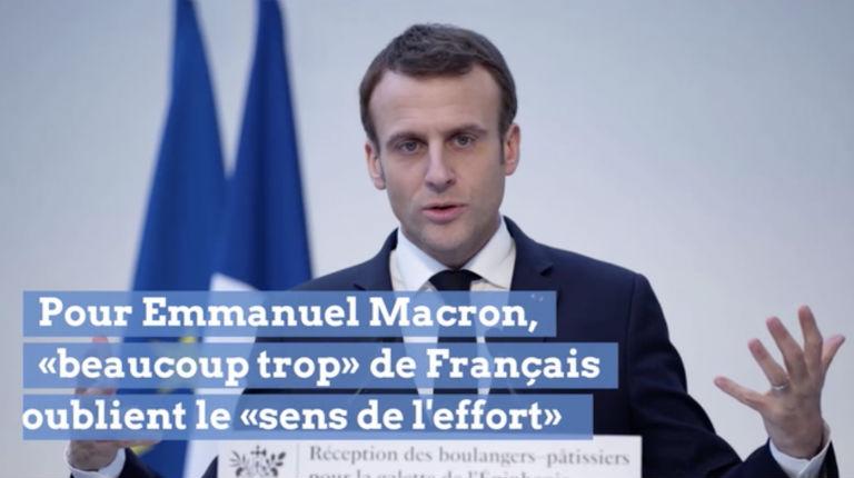 Provocation la veille de l'acte 9 des Gilets Jaunes, pour Macron «beaucoup trop» de Français n'ont pas le «sens de l'effort»