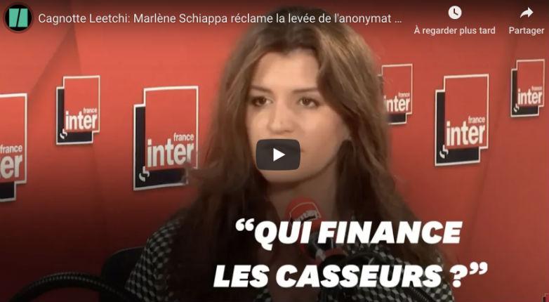 Fake news, complotisme ? Marlène Schiappa prétend que des « puissances étrangères », notamment les « responsables italiens », ont peut-être « financé les casseurs » (Vidéo)