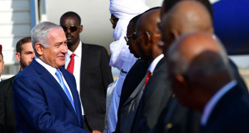 Visite historique: Netanyahu est au Tchad pour rétablir les relations diplomatiques