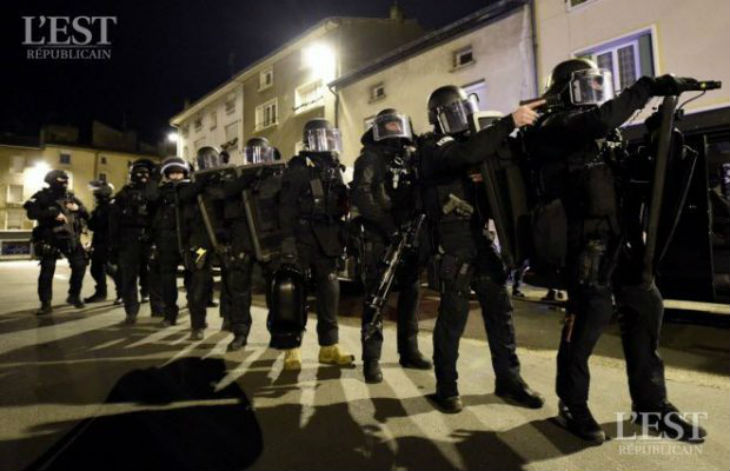 A Pont-à-Mousson, Castaner envoie le RAID pour arrêter un Gilet Jaune soupçonné d'avoir participé à des violences