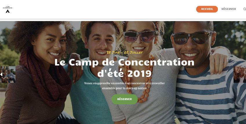Un site néonazi vient d'être créé «camp de concentration.com» hébergé par la société française OVH