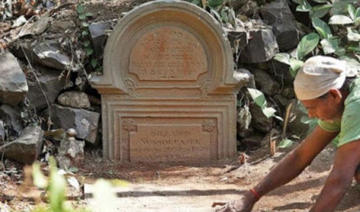 Un cimetière juif vieux de plusieurs siècles a été découvert en inde