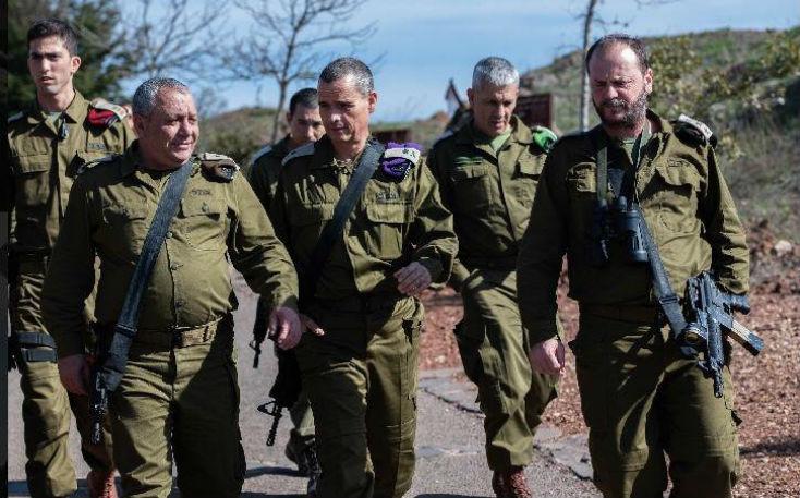 Le chef d'État-Major israélien, le général Gadi Eizenkot «Nous avons frappé des milliers de cibles en Syrie et au Liban»