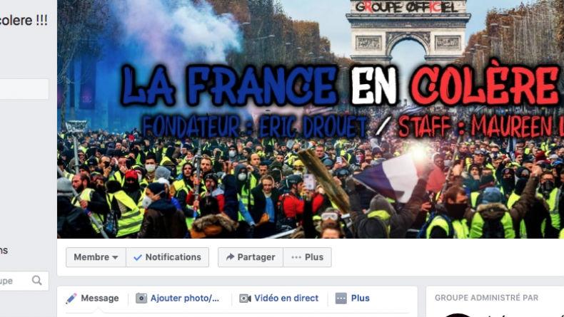 Accusé de censurer les groupes de gilets jaunes, Facebook prétend que c'est la faute d'une «mise à jour»