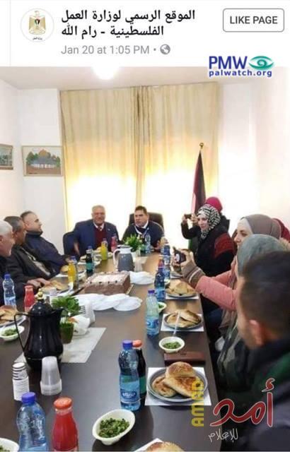 Des boissons israéliennes lors des réunions des dirigeants palestiniens