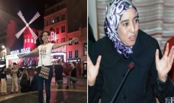 Paris : polémique autour d'une photo de la députée du parti islamiste PJD, cheveux au vent et t-shirt à manches courtes