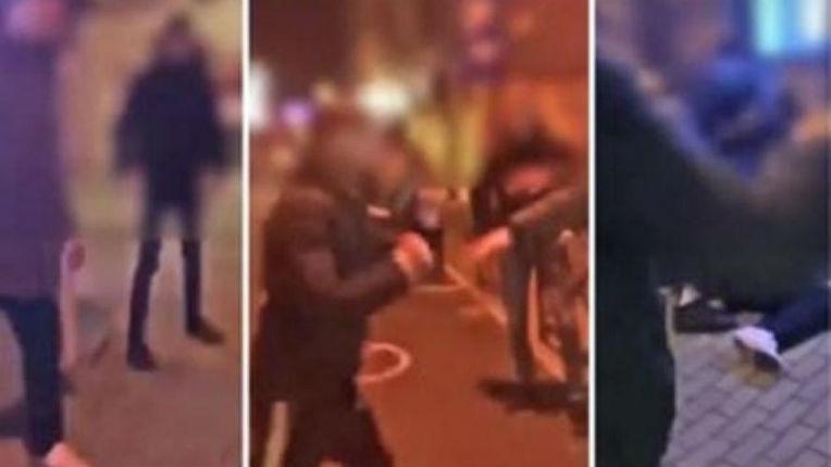 La vidéo qui choque la Flandre: un jeune homme violemment tabassé gratuitement en pleine rue par un groupe de racailles parlant arabe