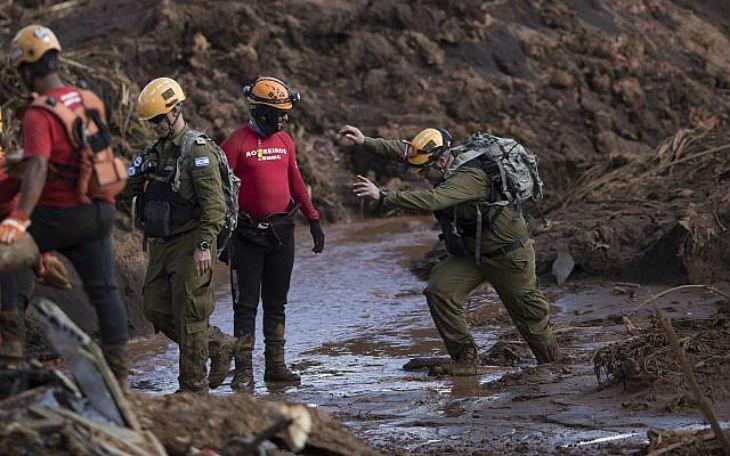 Brésil : Le président Bolsonaro «Je remercie les courageux soldats israéliens et l'Etat d'Israël» pour leur aide lors de la catastrophe minière de Brumadinho