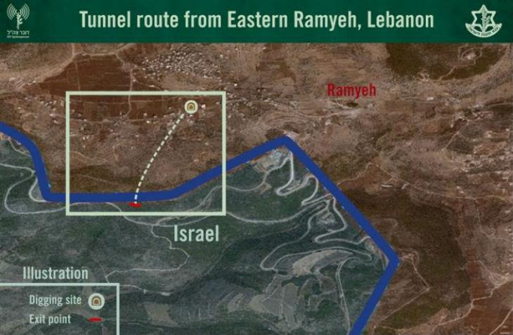 Israël: un 6e tunnel terroriste localisé, l'opération Bouclier du nord achevée