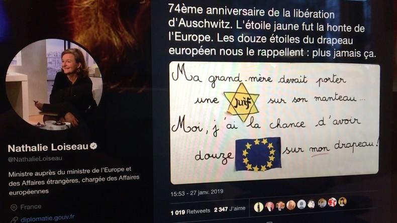 Auschwitz et Union européenne : Quand la ministre des Affaires européennes utilise la Shoah pour épingler les eurosceptiques