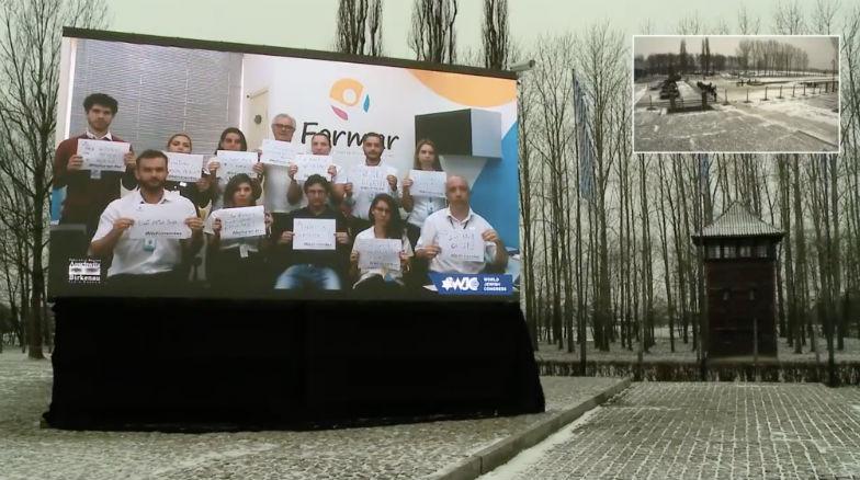 #We Remember : Vos photos seront diffusées sur un écran géant à Auschwitz