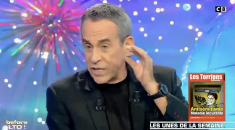 Ardisson : « C'est une stratégie pourrie du gouvernement français de vouloir faire passer les gilets jaunes pour des antisémites » (Vidéo)