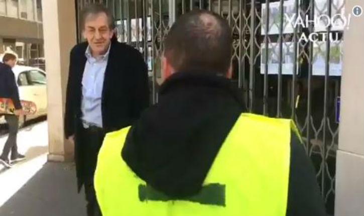 [Vidéo] Alain Finkielkraut est la cible d'insultes antisémites : «Sale juif de merde !», «dégage», «la France est à nous»