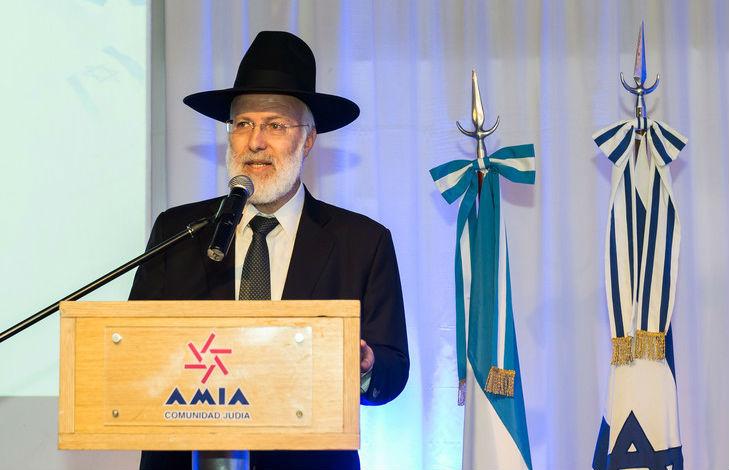 Le grand rabbin d'Argentine blessé lors d'une attaque antisémite par sept individus
