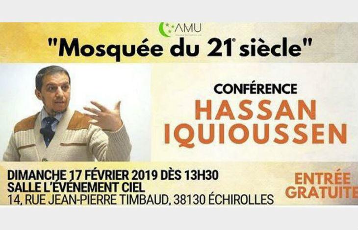 Le prédicateur Hassan Iquioussen prêcheur de haine anti-juive à Echirolles, un « antisémite décomplexé » pour Mohamed Louizi